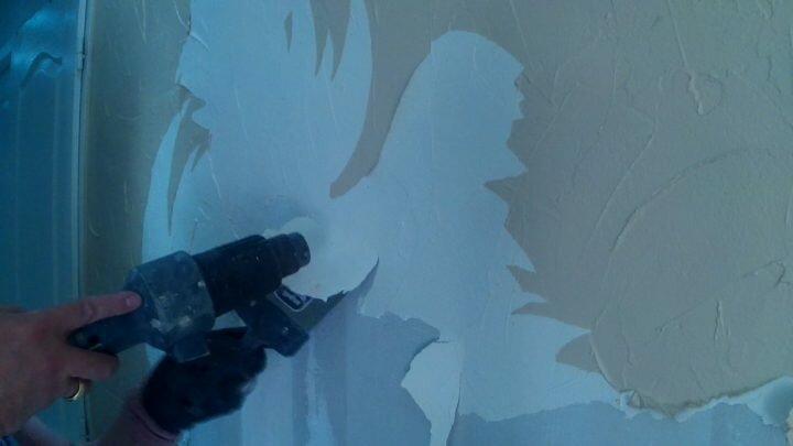 Comment décoller du papier peint avec un décapeur thermique?